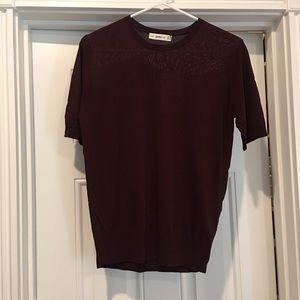 NWT Zara knit top